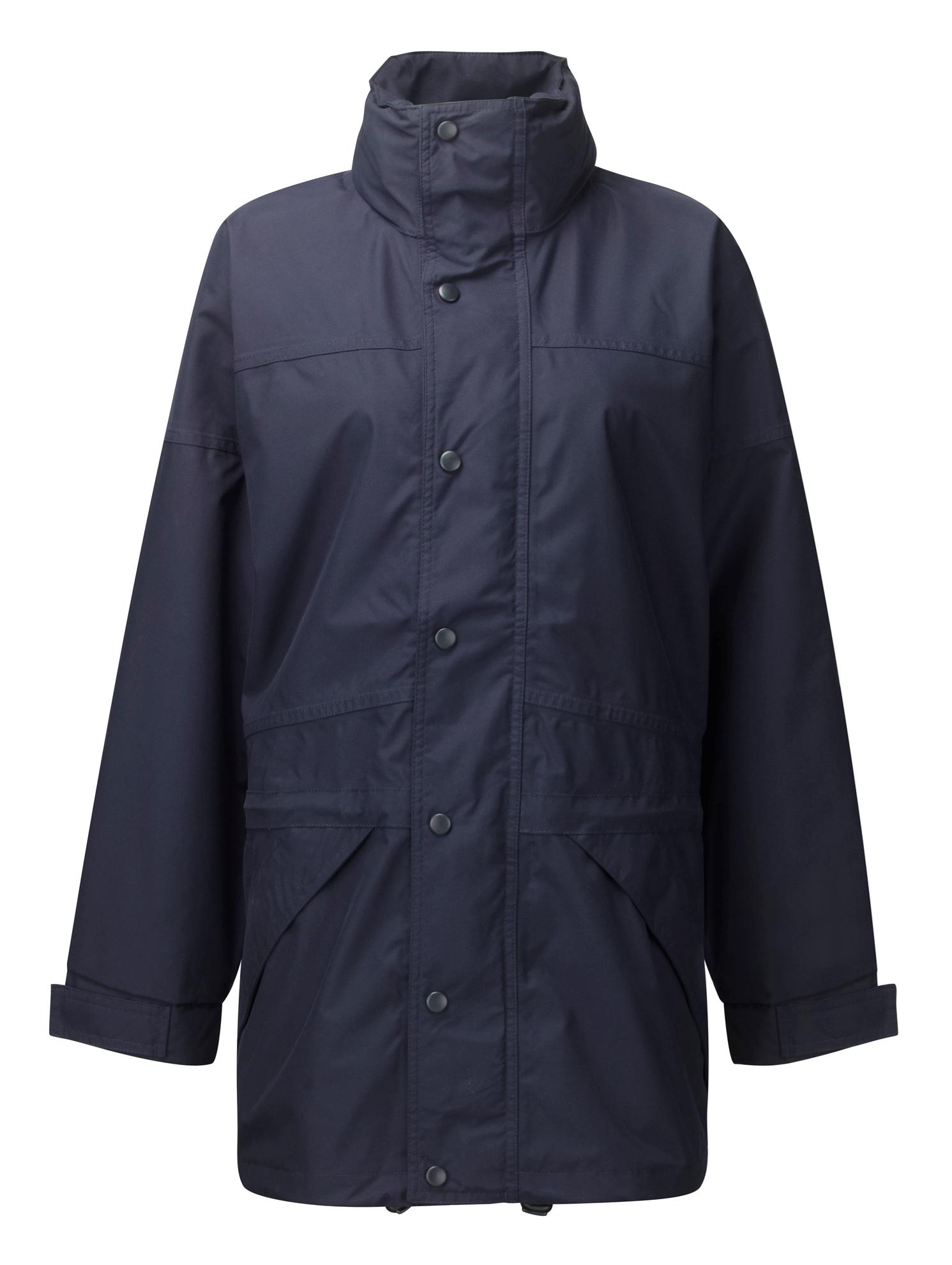 Picture of Waterproof Anorak with Lined Fleece - Navy