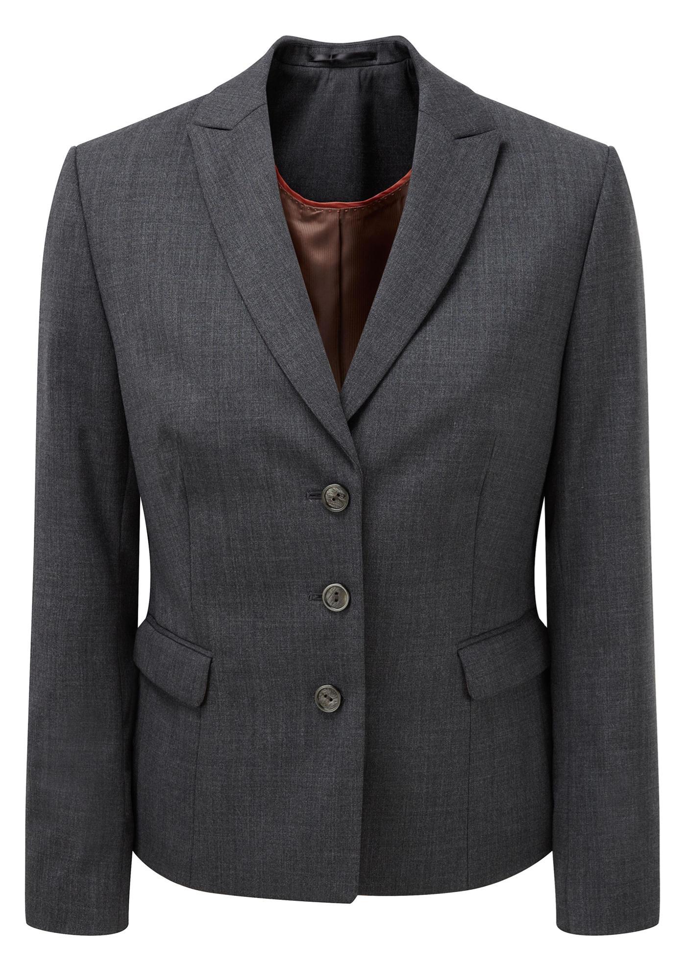 Picture of Ritz Tailored Fit Jacket - Mid Grey