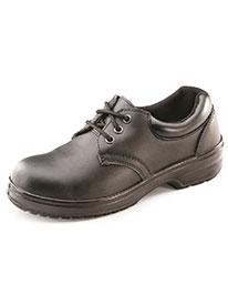 Picture of Ladies Tie Shoe - Black