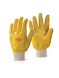 Picture of Knitwrist Lightweight Fully Coated Gloves - Yellow