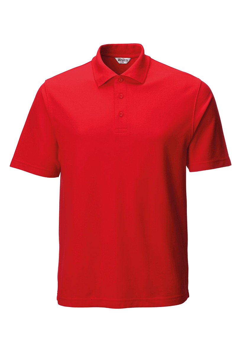 Picture of Unisex Poloshirt - Red