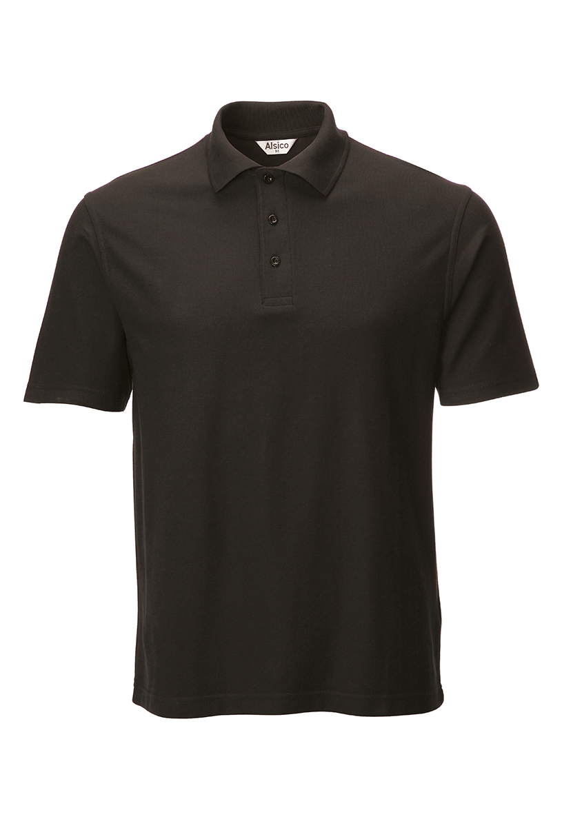 Picture of Unisex Poloshirt - Black