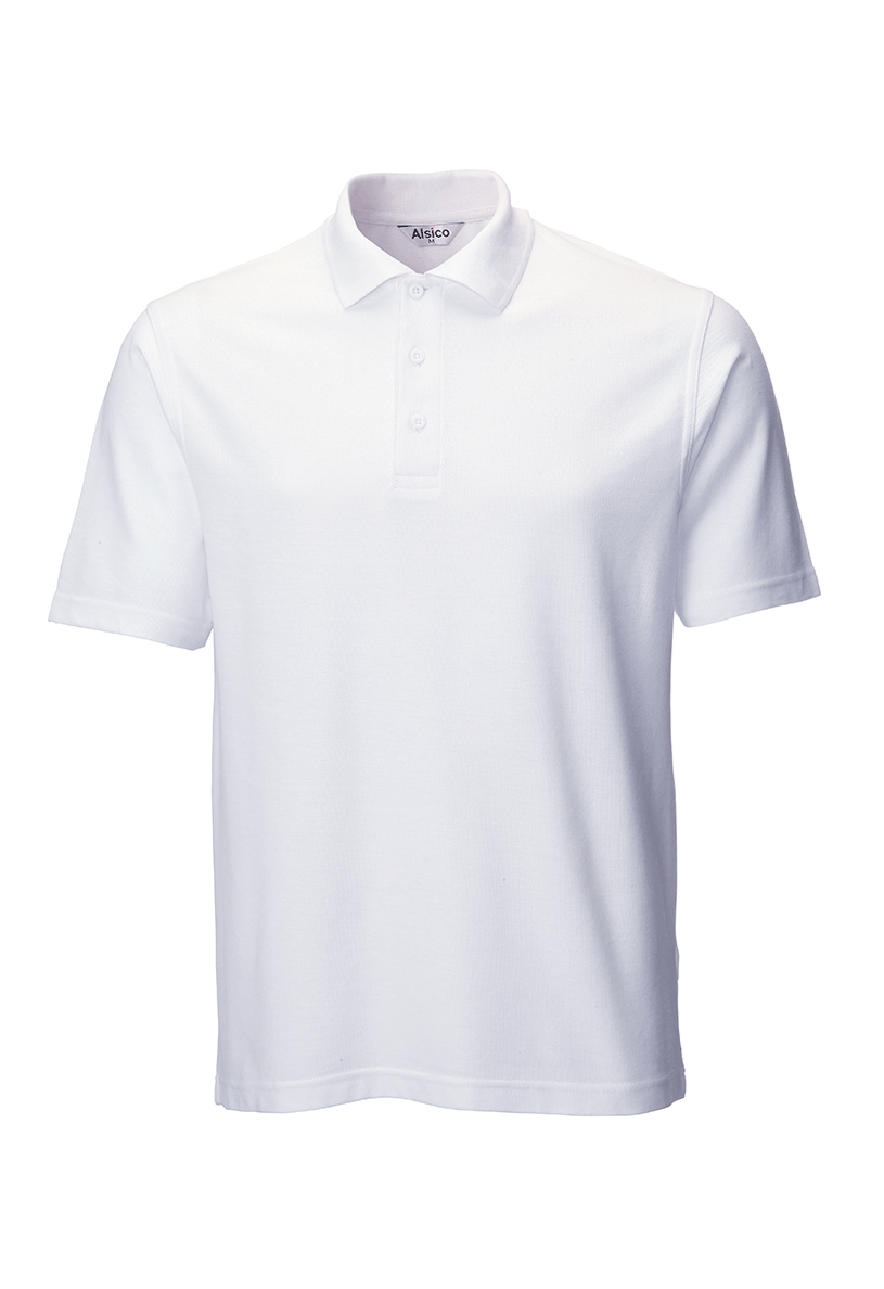 Picture of Unisex Poloshirt - White