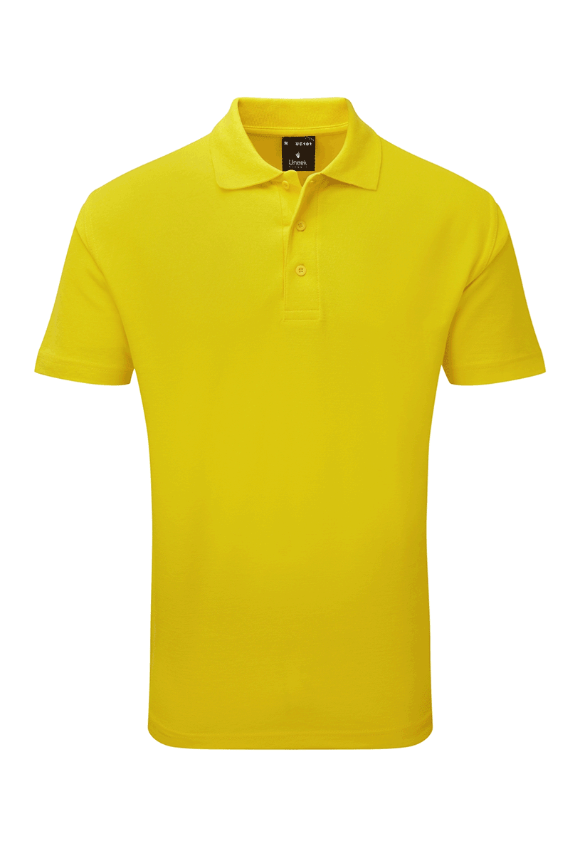 Picture of Unisex Poloshirt - Yellow