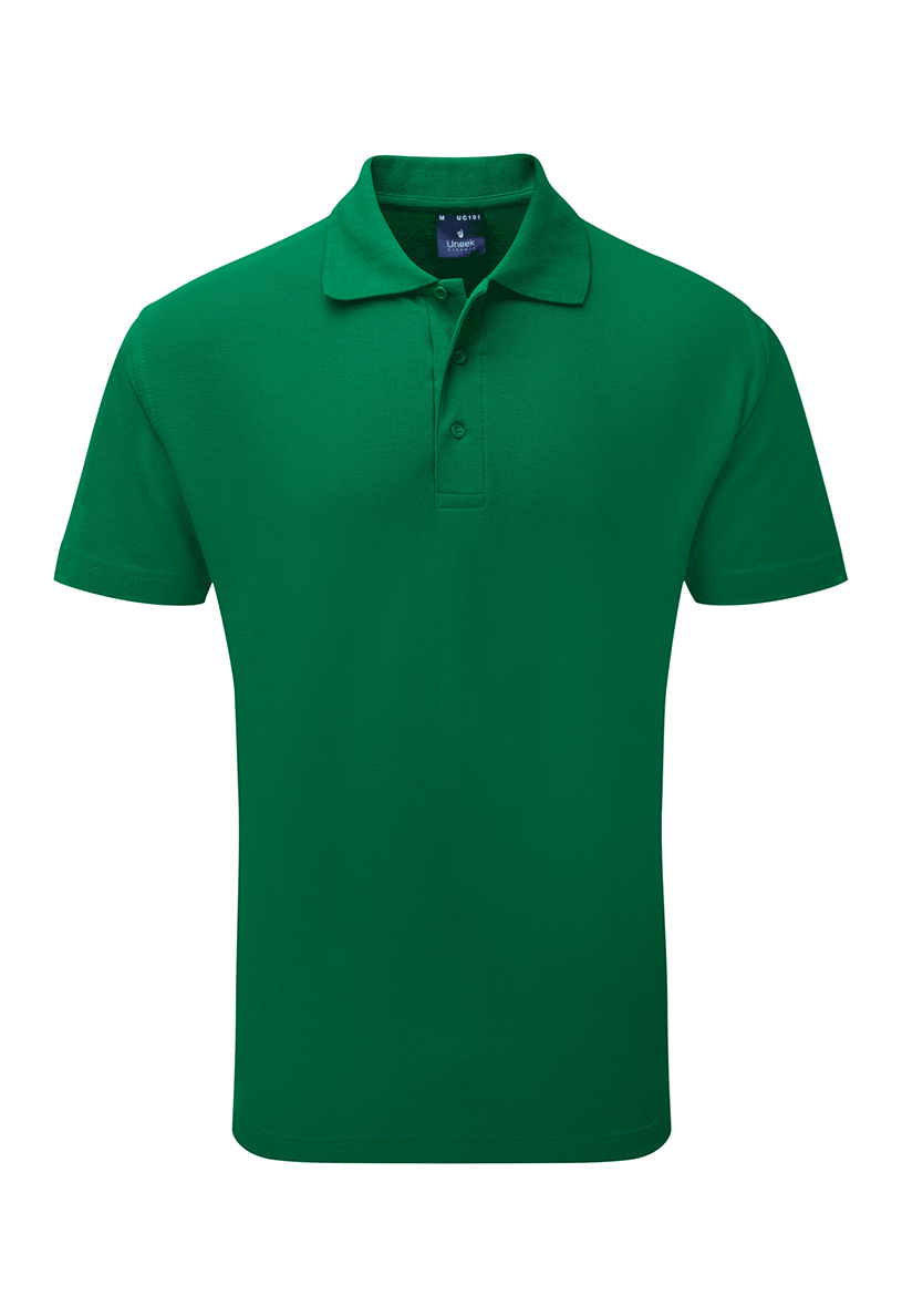 Picture of Unisex Poloshirt - Kelly Green