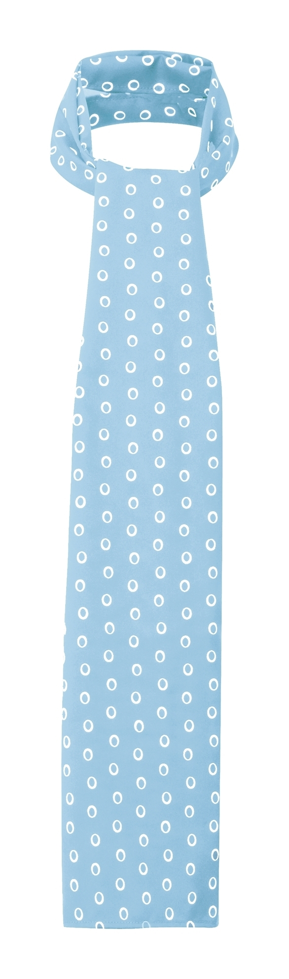 Picture of Long Scarf - Light Blue/White Ella Print