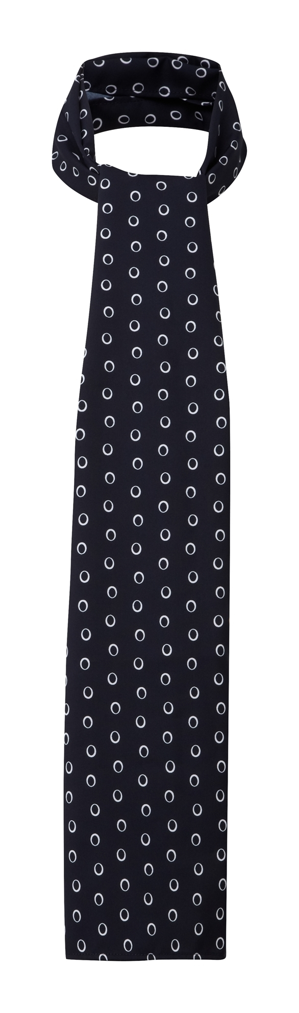 Picture of Long Scarf - Navy/White Ella Print