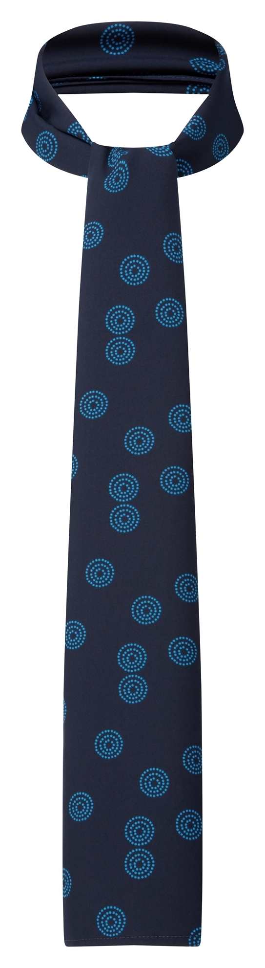 Picture of Long Scarf - Navy/Blue Sienna Print
