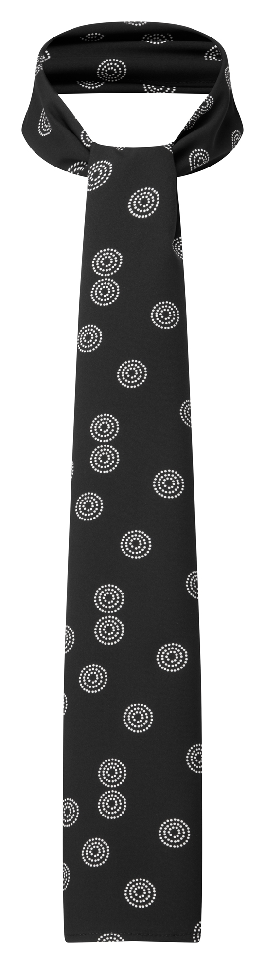Picture of Long Scarf - Black/White Sienna Print