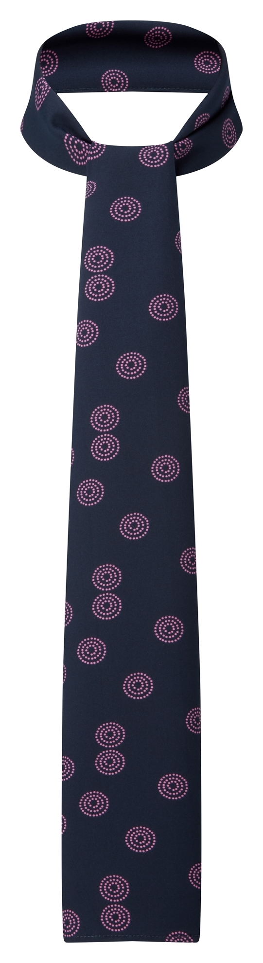 Picture of Long Scarf - Navy/Pink Sienna Print