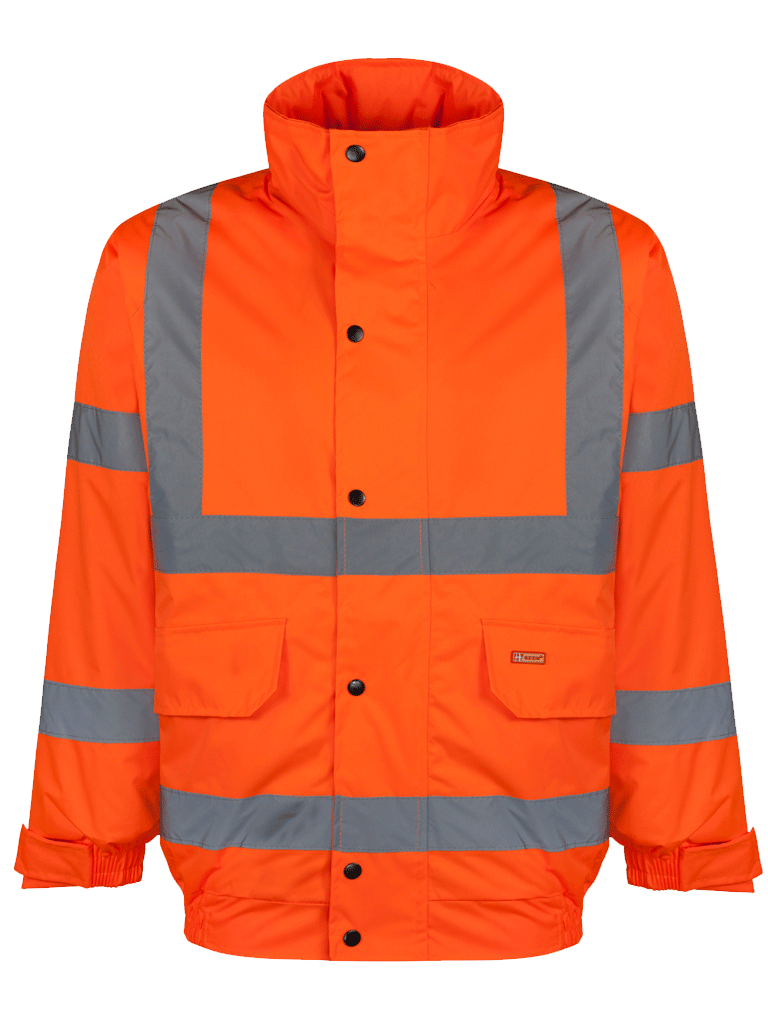 Picture of Hi-Vis Bomber Jacket (Constructor Bomber Jacket ) - Orange