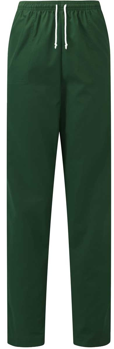 Picture of Unisex Smart Scrub Trousers - Bottle Green