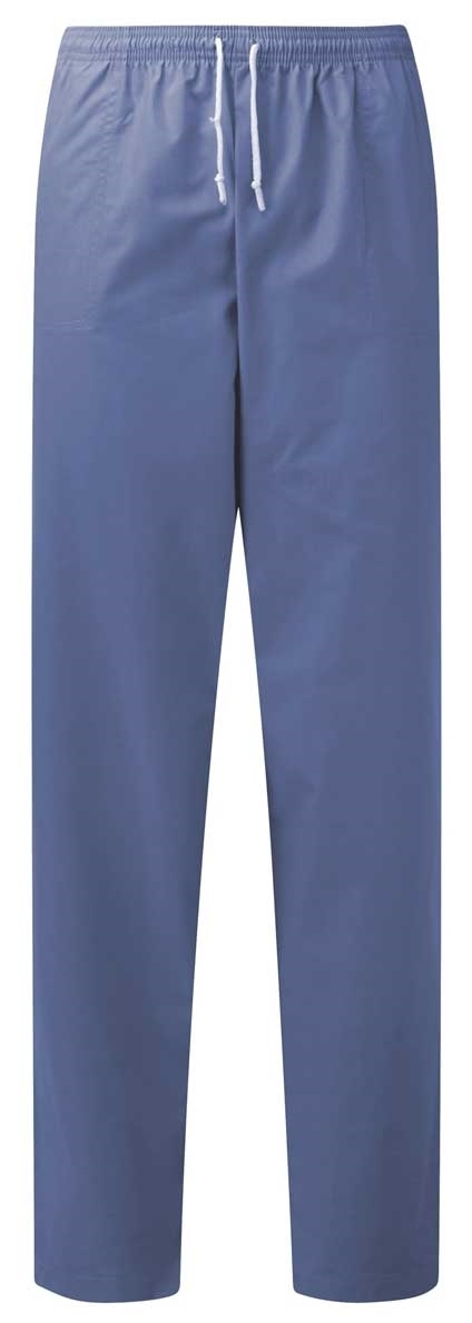 Picture of Unisex Smart Scrub Trousers - Hospital Blue