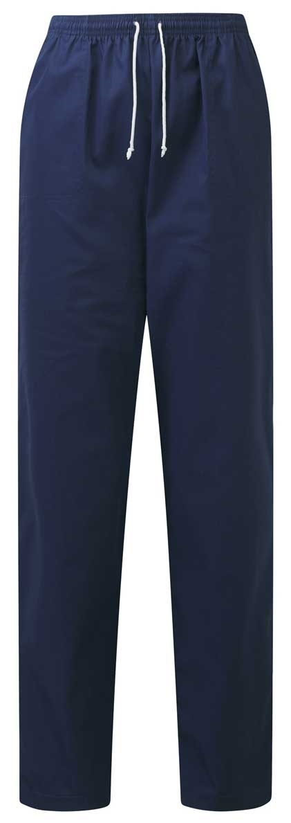 Picture of Unisex Smart Scrub Trousers - Navy