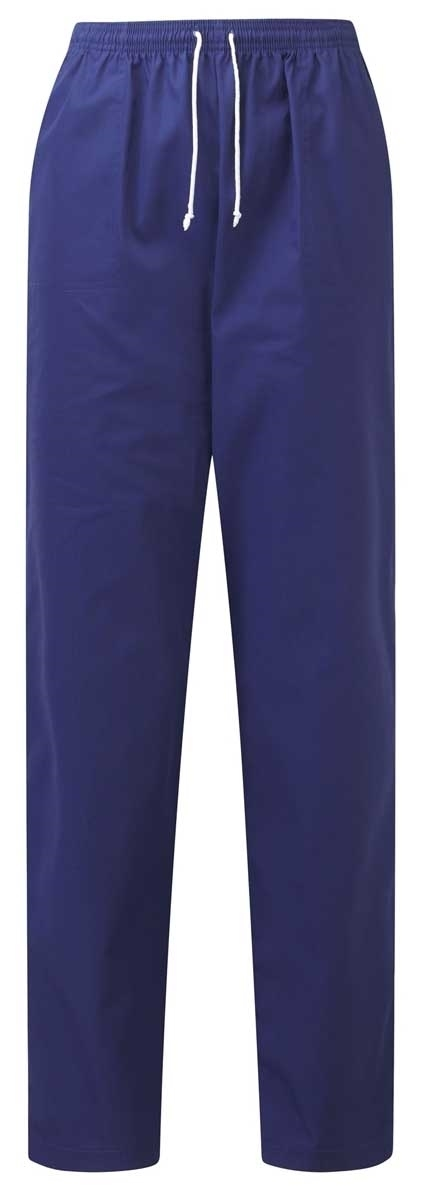 Picture of Unisex Smart Scrub Trousers - Royal Blue