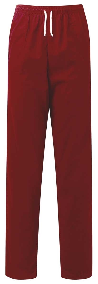 Picture of Unisex Smart Scrub Trousers - Burgundy