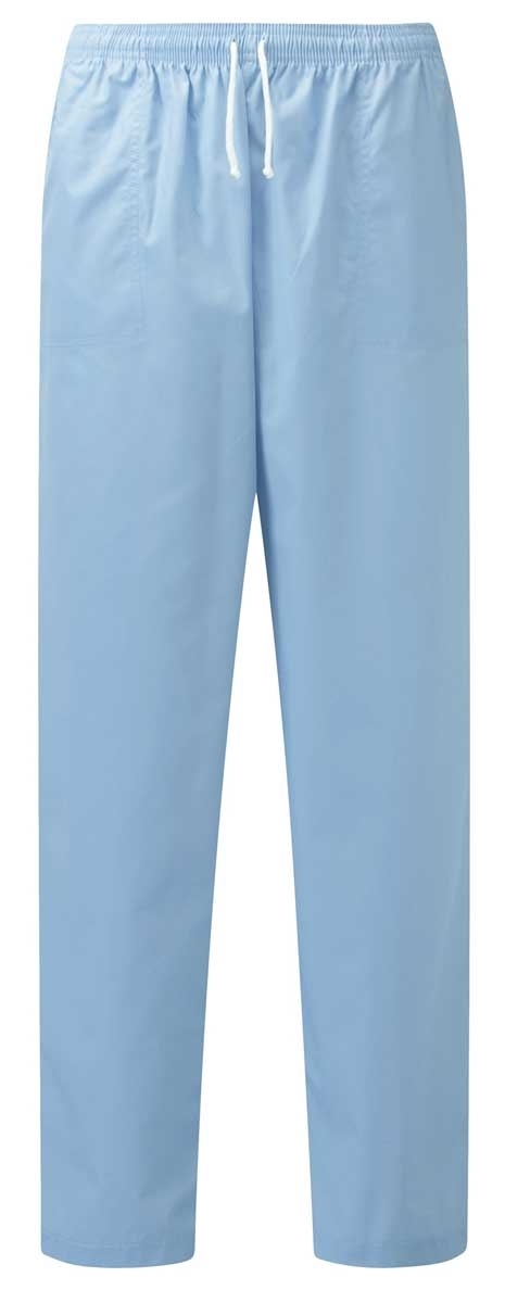 Picture of Unisex Smart Scrub Trousers - Sky Blue