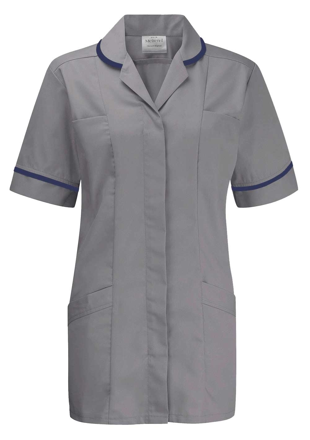 Picture of Advantage Tunic - Hospital Grey/Navy