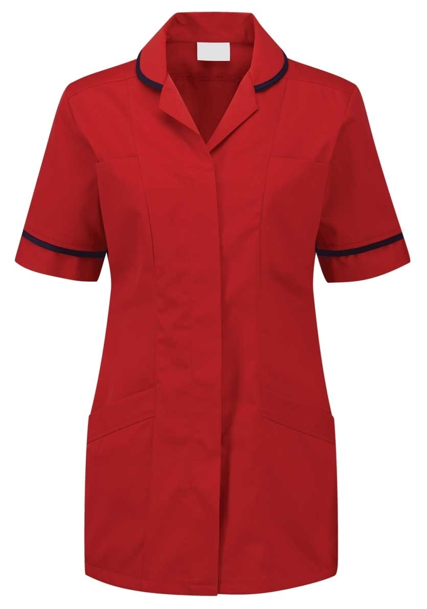Picture of Advantage Tunic - Red/Navy
