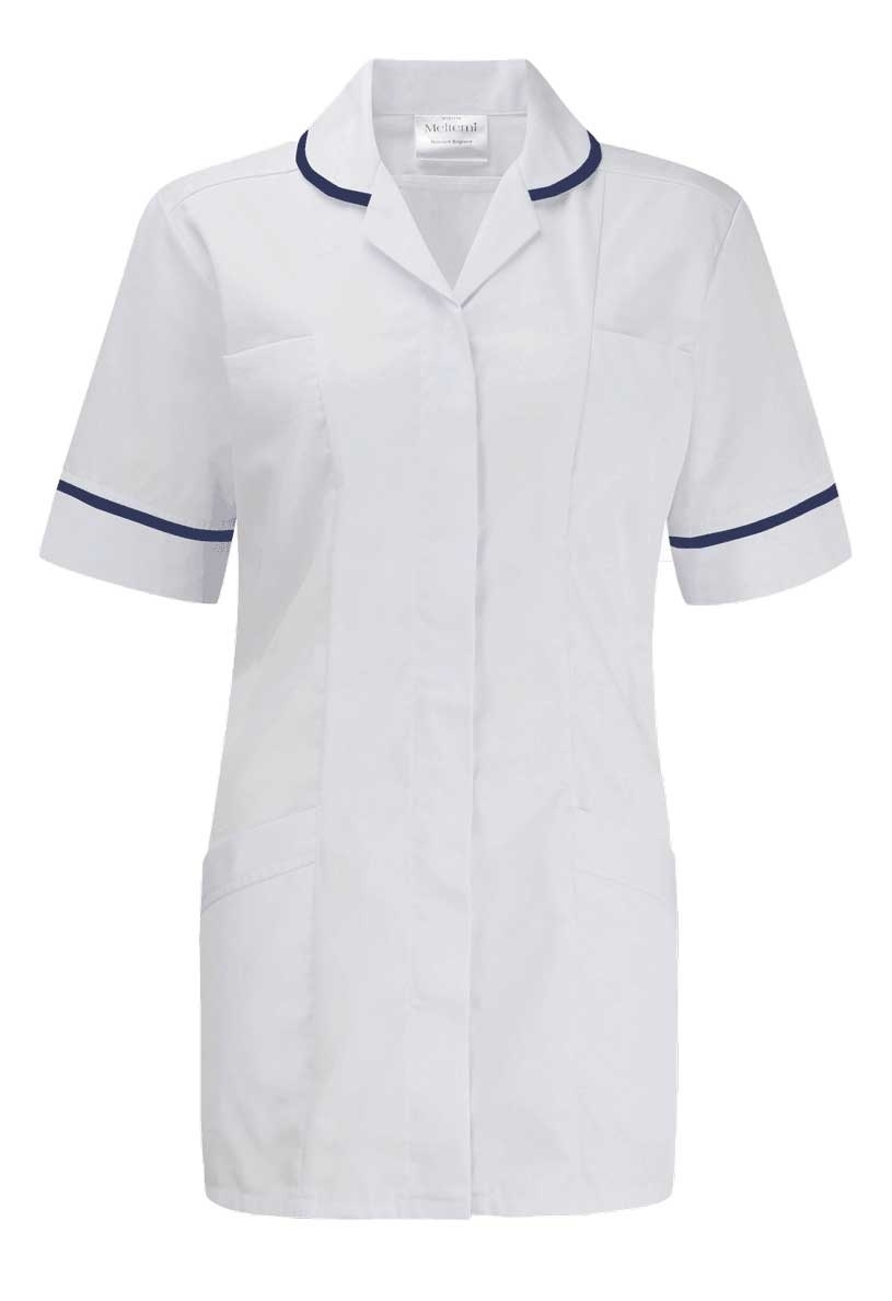 Picture of Advantage Tunic - White/Navy