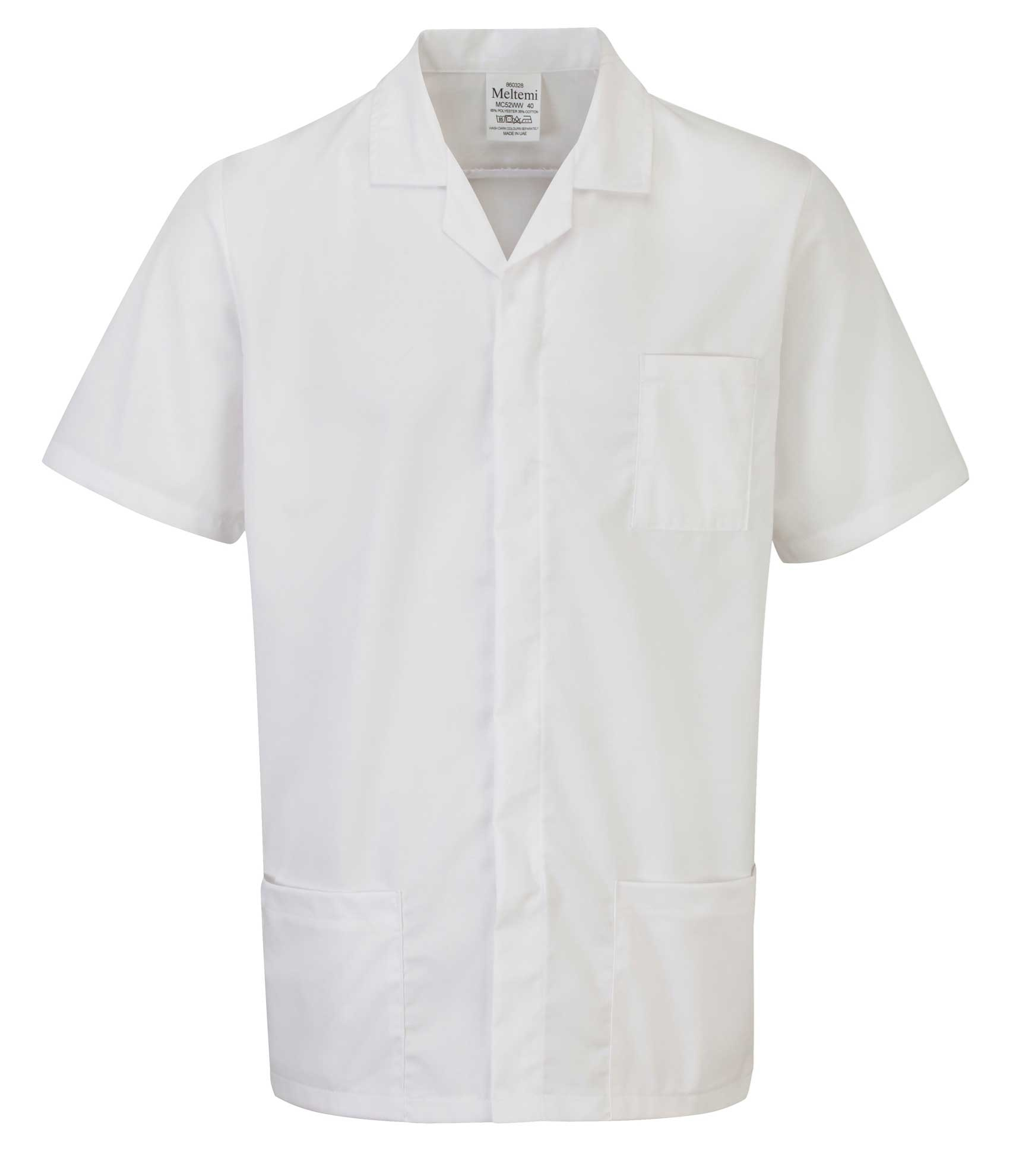 Picture of Advantage Front Fastening Tunic - White