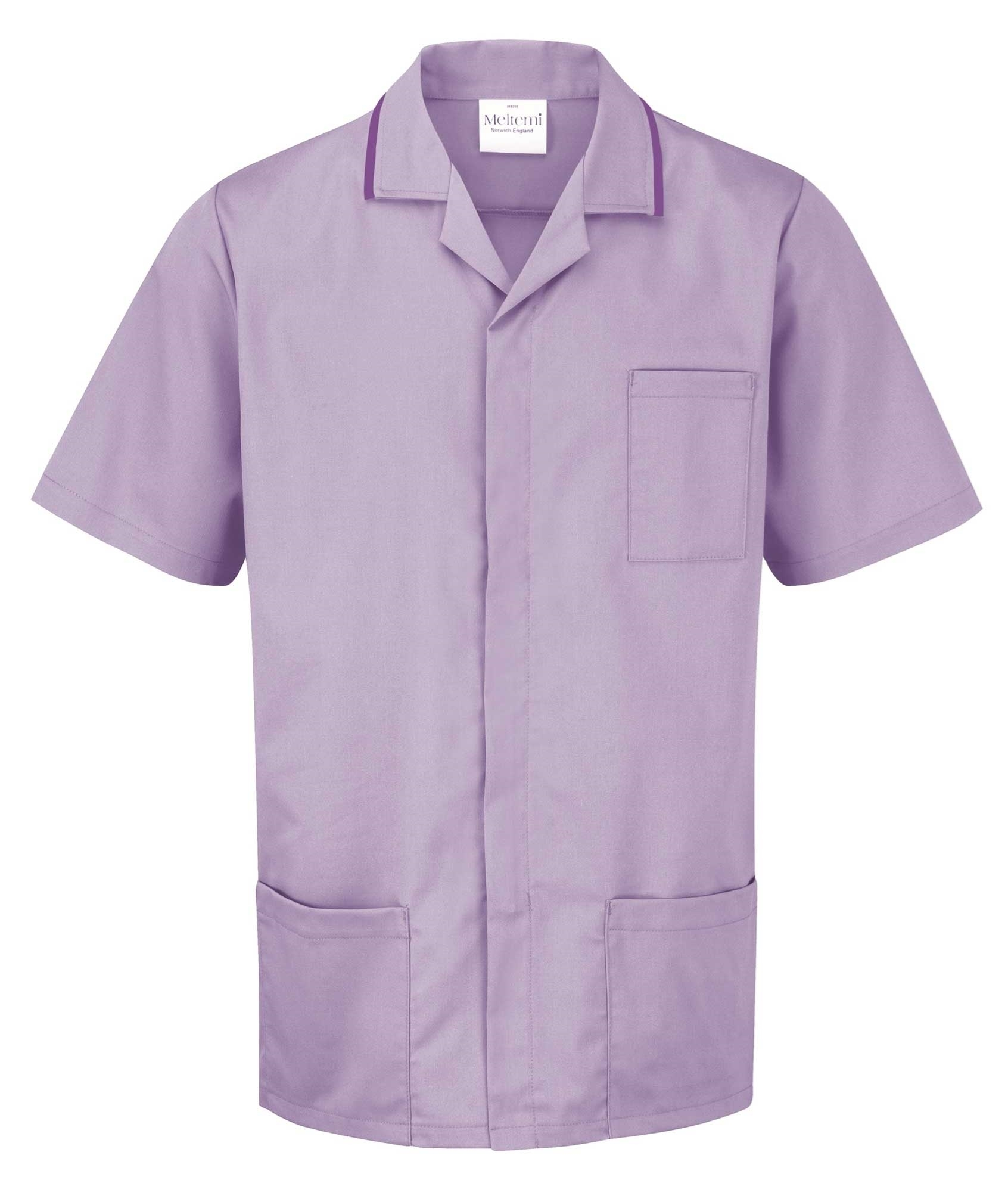 Picture of Advantage Front Fastening Tunic - Lilac/Purple