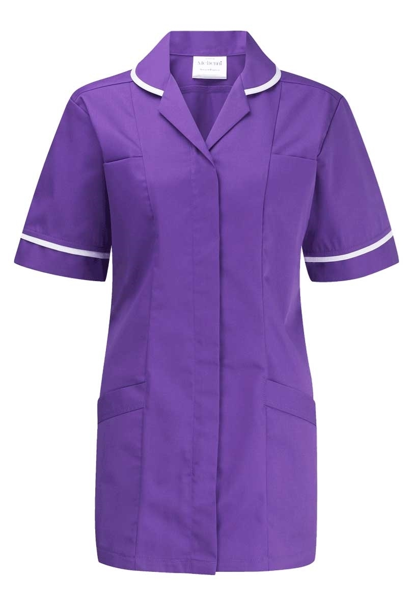 Picture of Lightweight Tunic - Purple/White