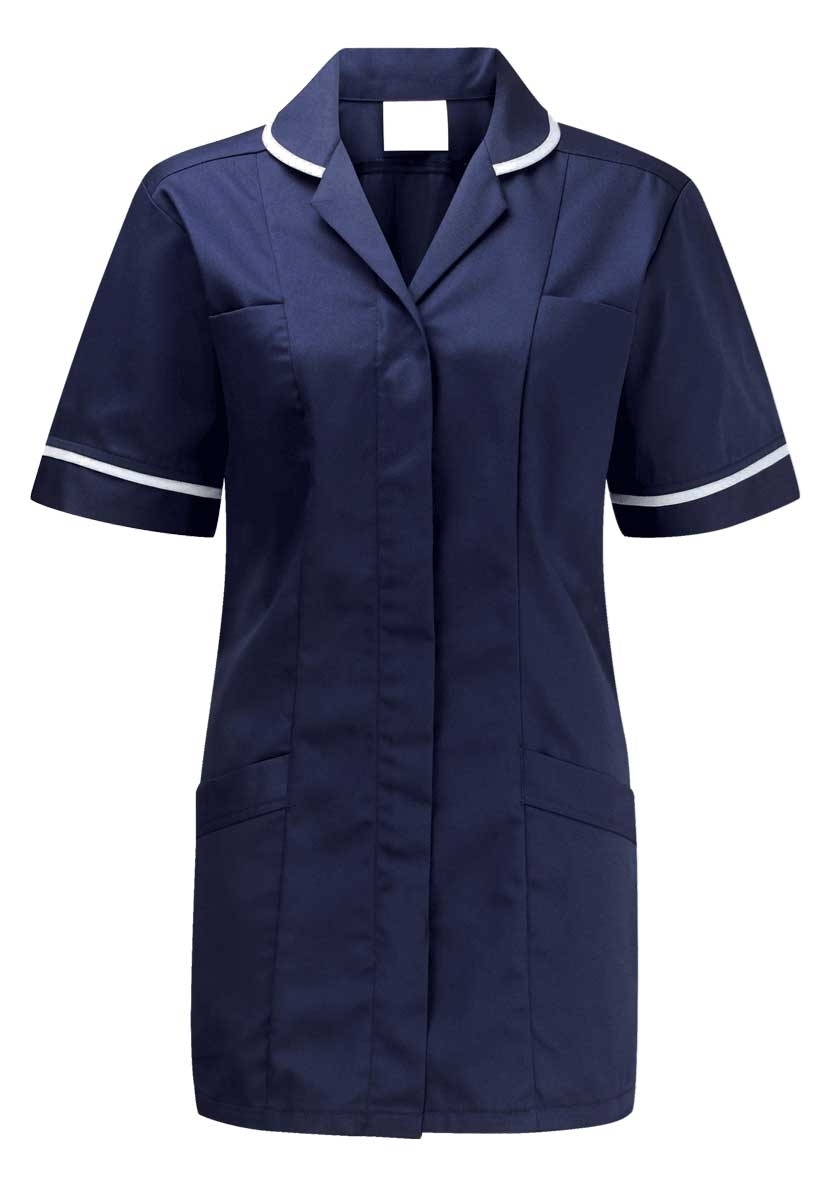 Picture of Lightweight Tunic - Navy/White