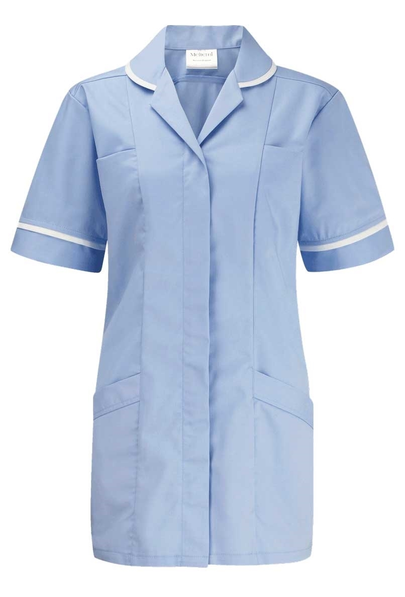 Picture of Lightweight Tunic - Sky Blue/White