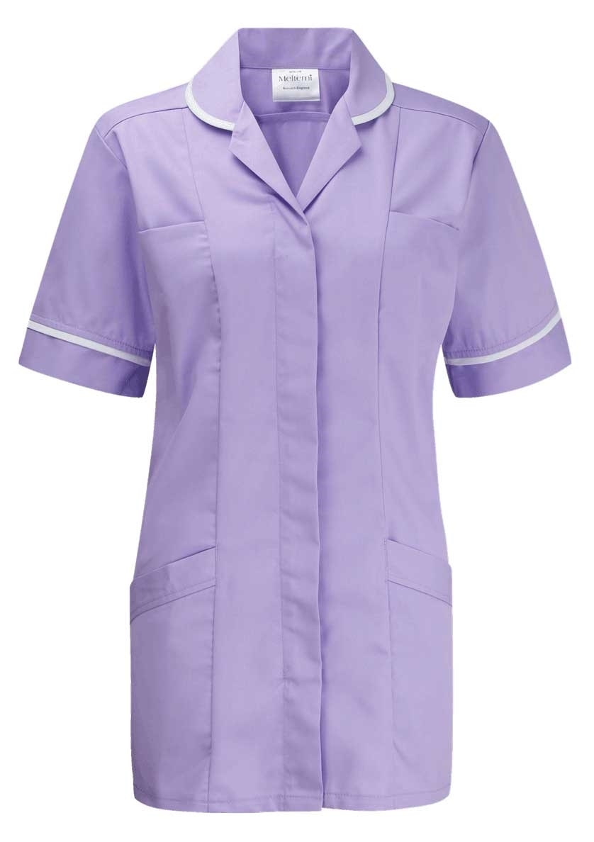 Picture of Lightweight Tunic - Lilac/White