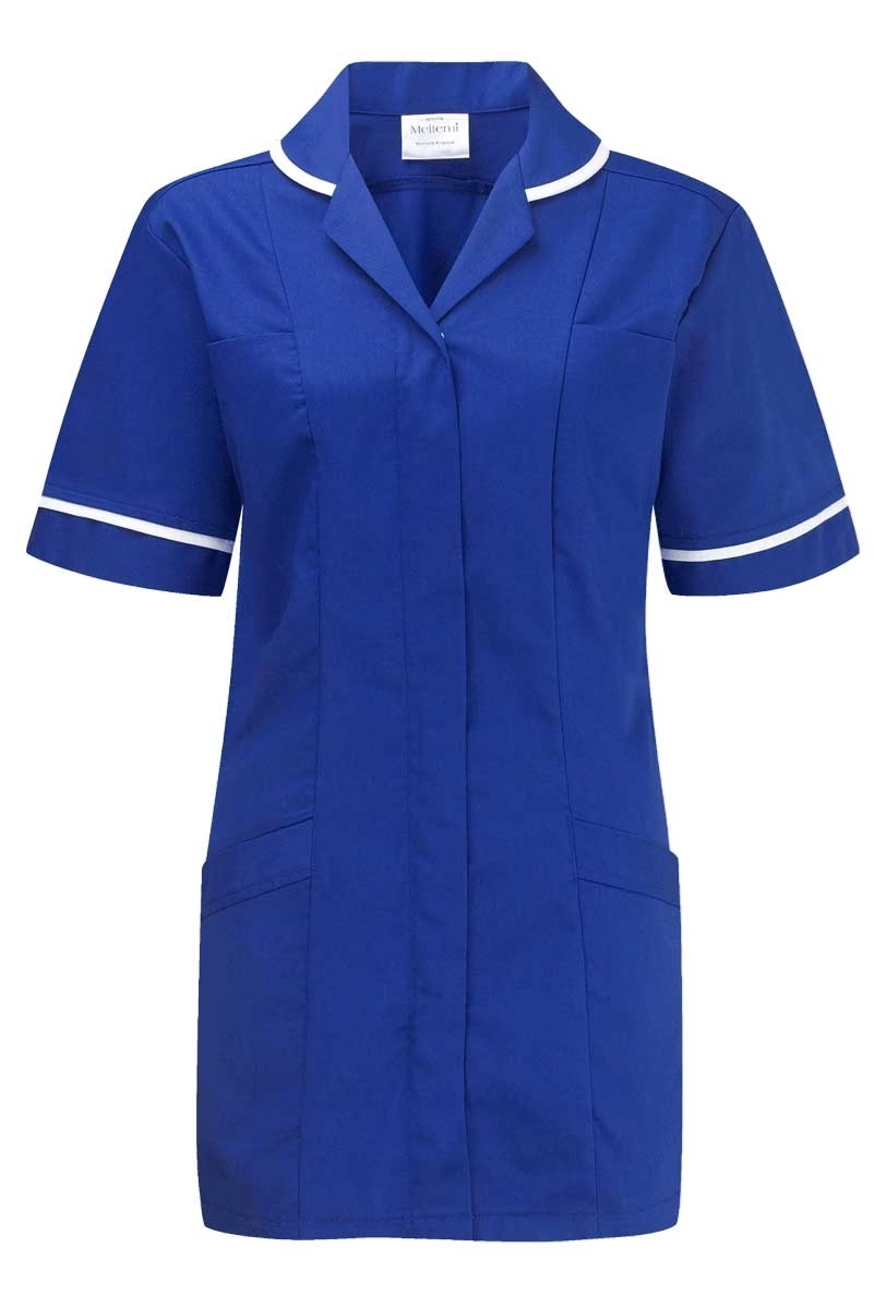 Picture of Lightweight Tunic - Royal Blue/White