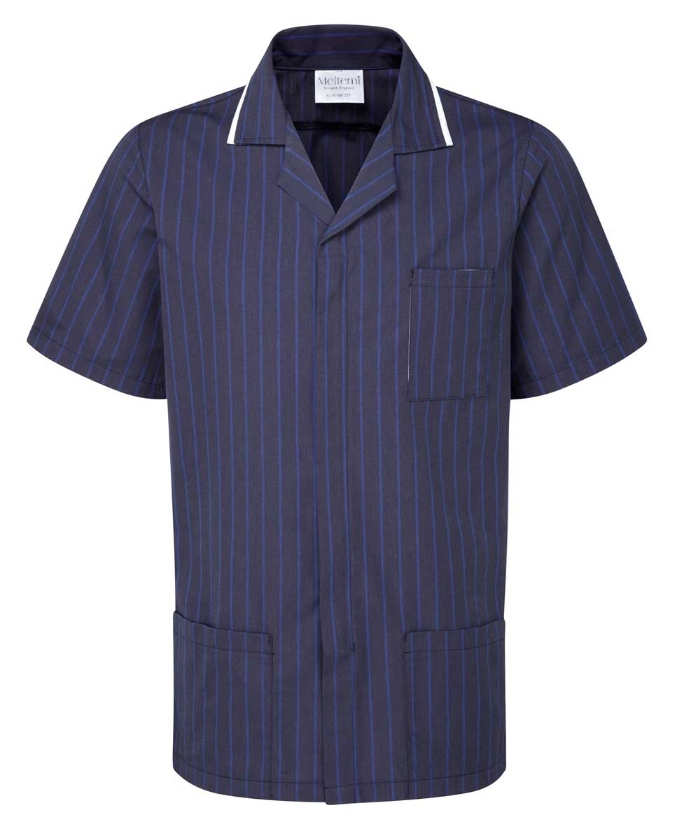 Picture of Professional Specialist Male Tunic - Navy Pinstripe/White