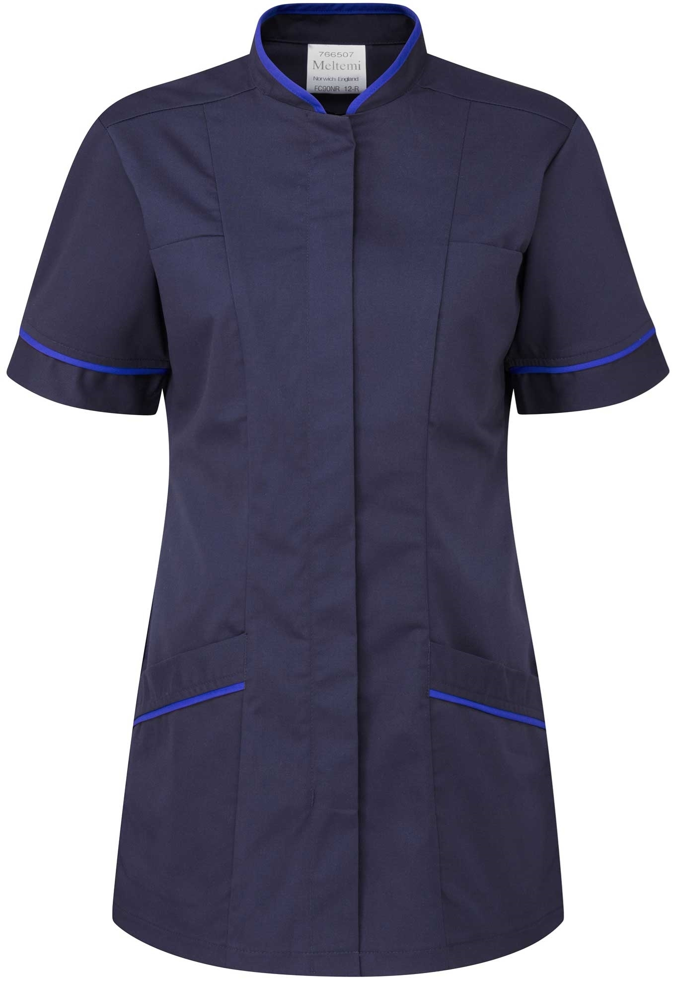 Picture of Professional Tunic - Navy/Royal Blue