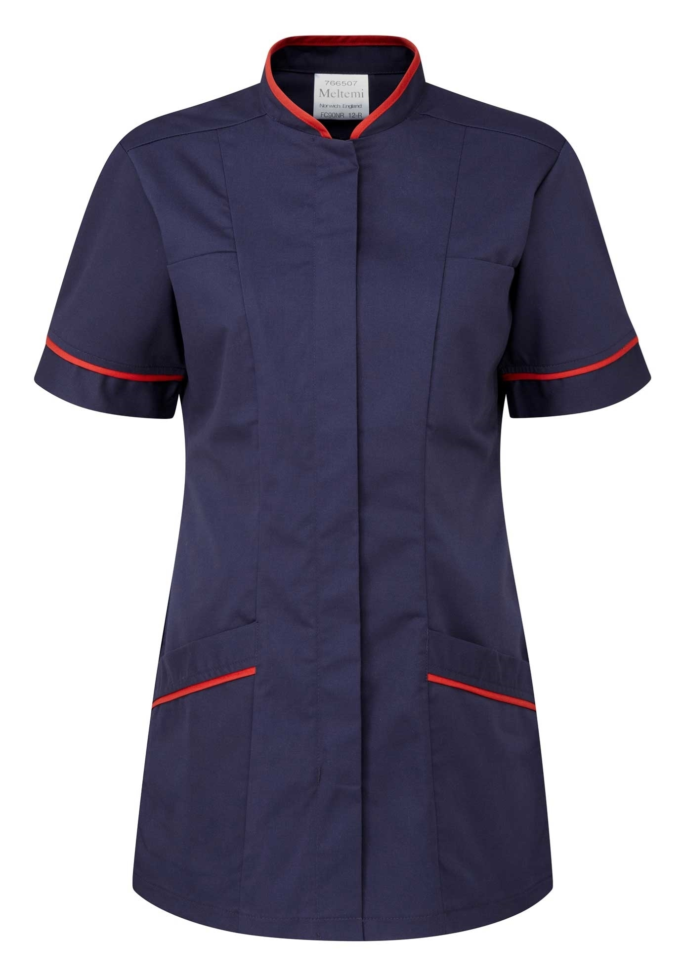 Picture of Professional Tunic - Navy/Red