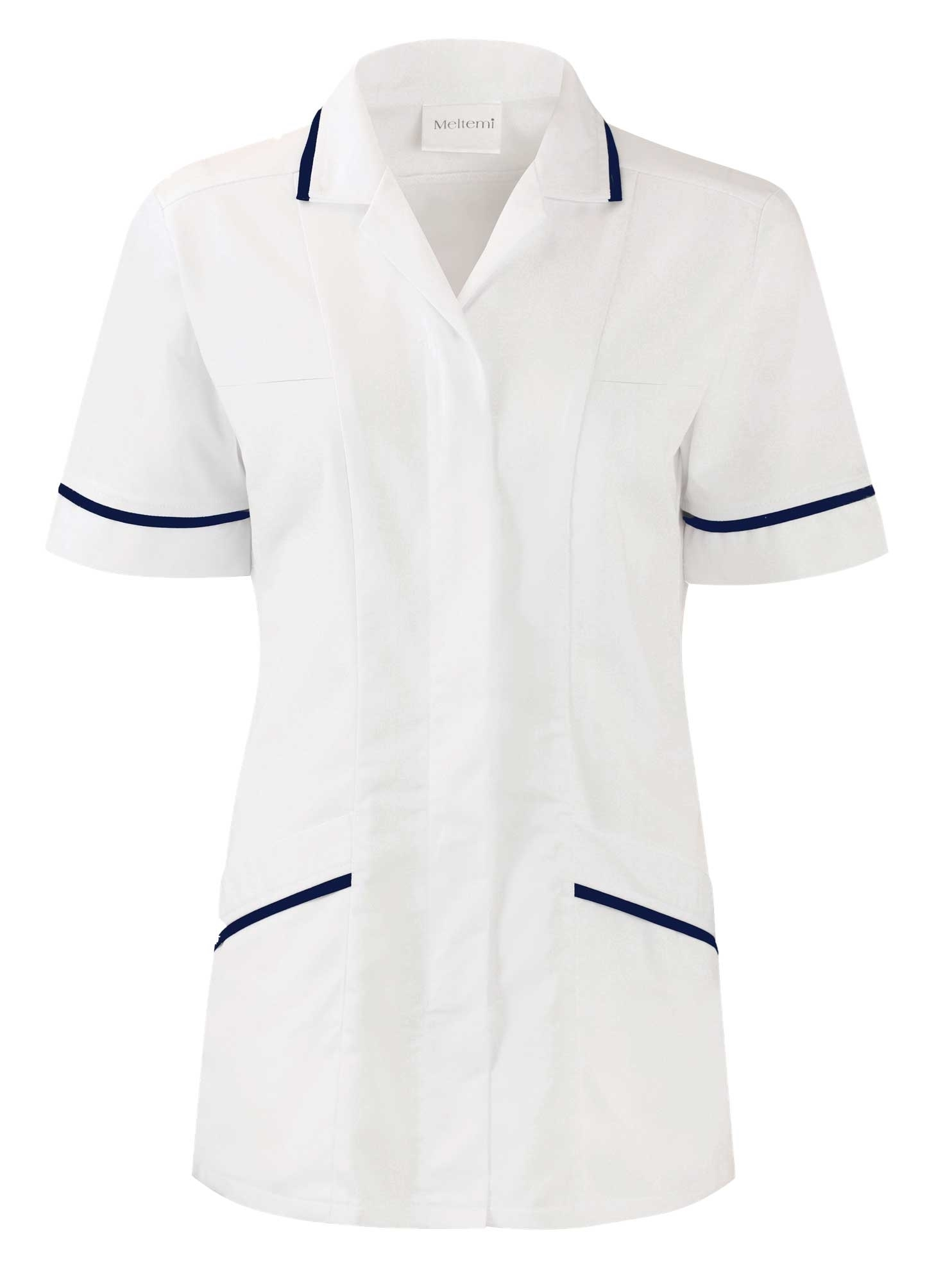 Picture of Therapy Tunic - White/Navy