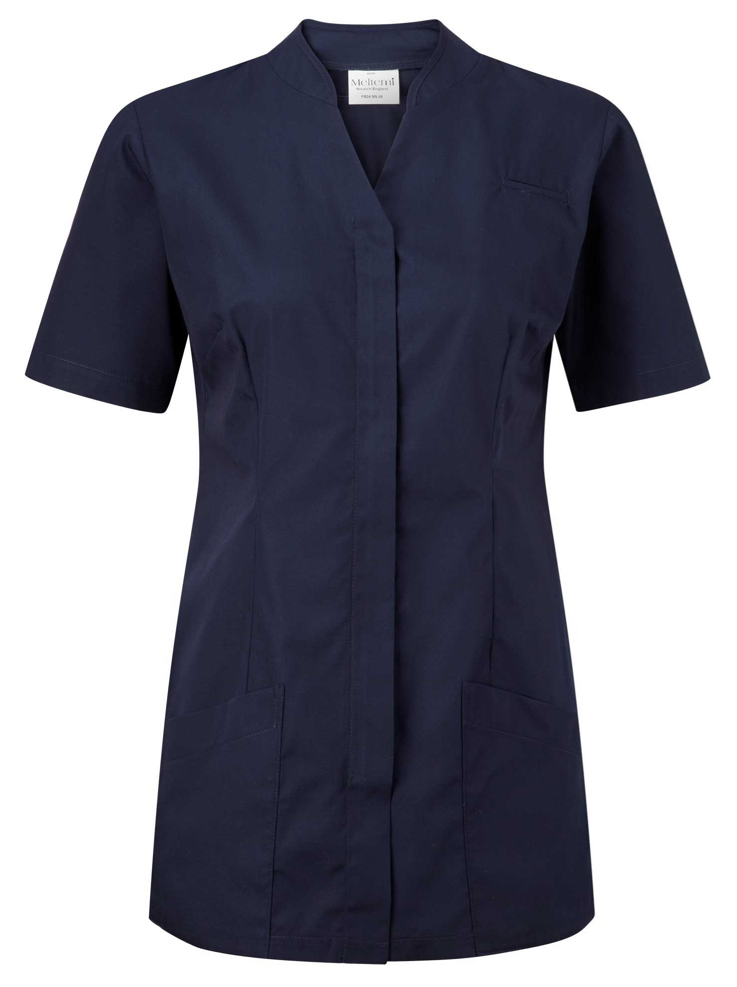 Picture of Polycotton Top - Navy