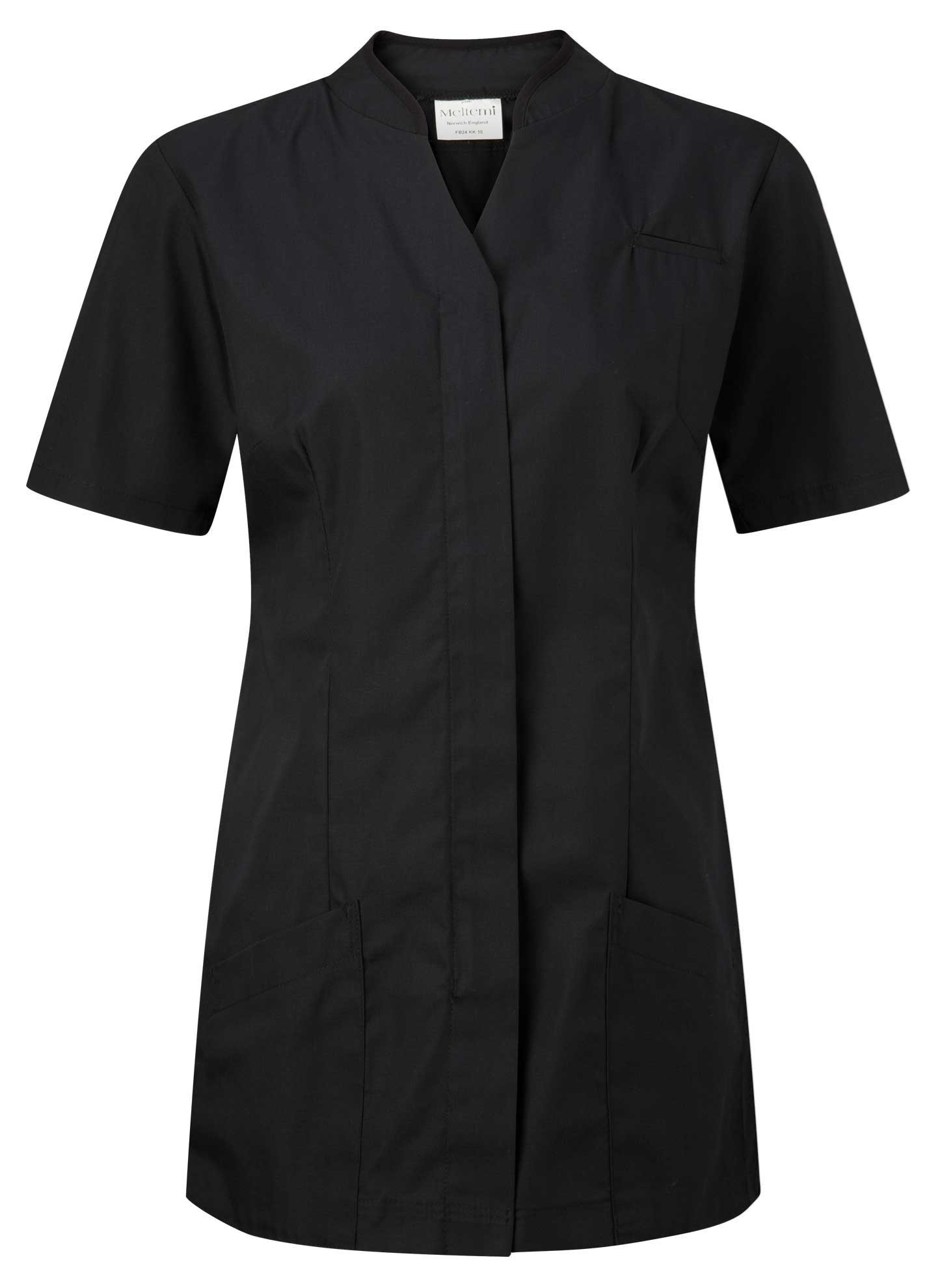 Picture of Polycotton Top - Black