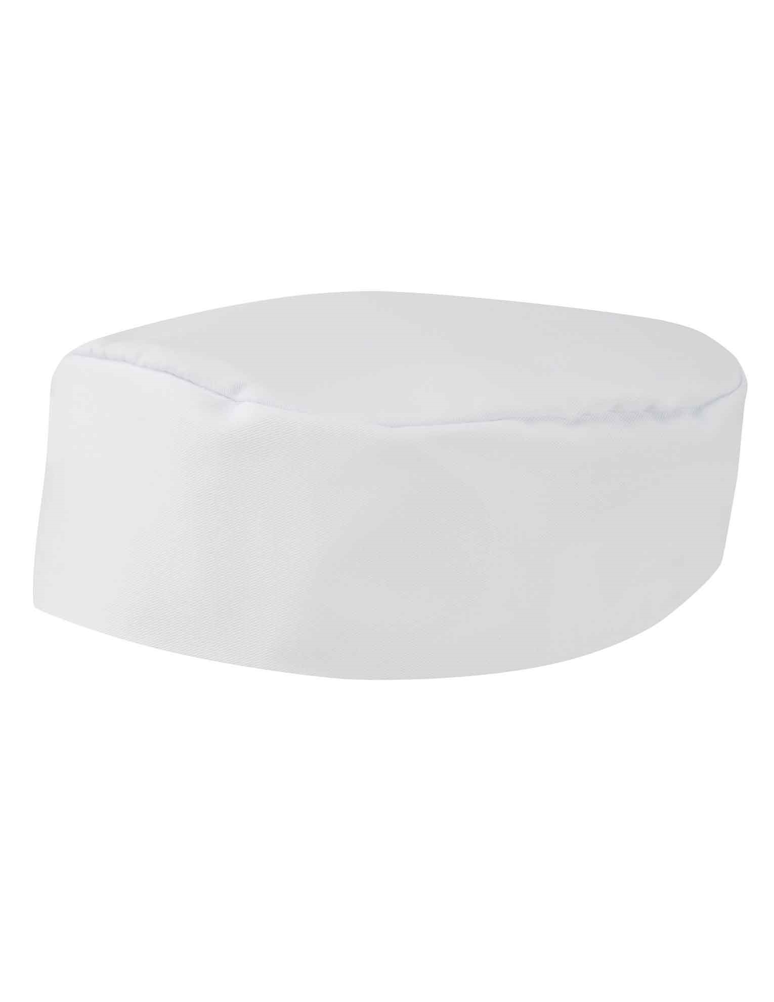Picture of Chefs Skull Cap - White
