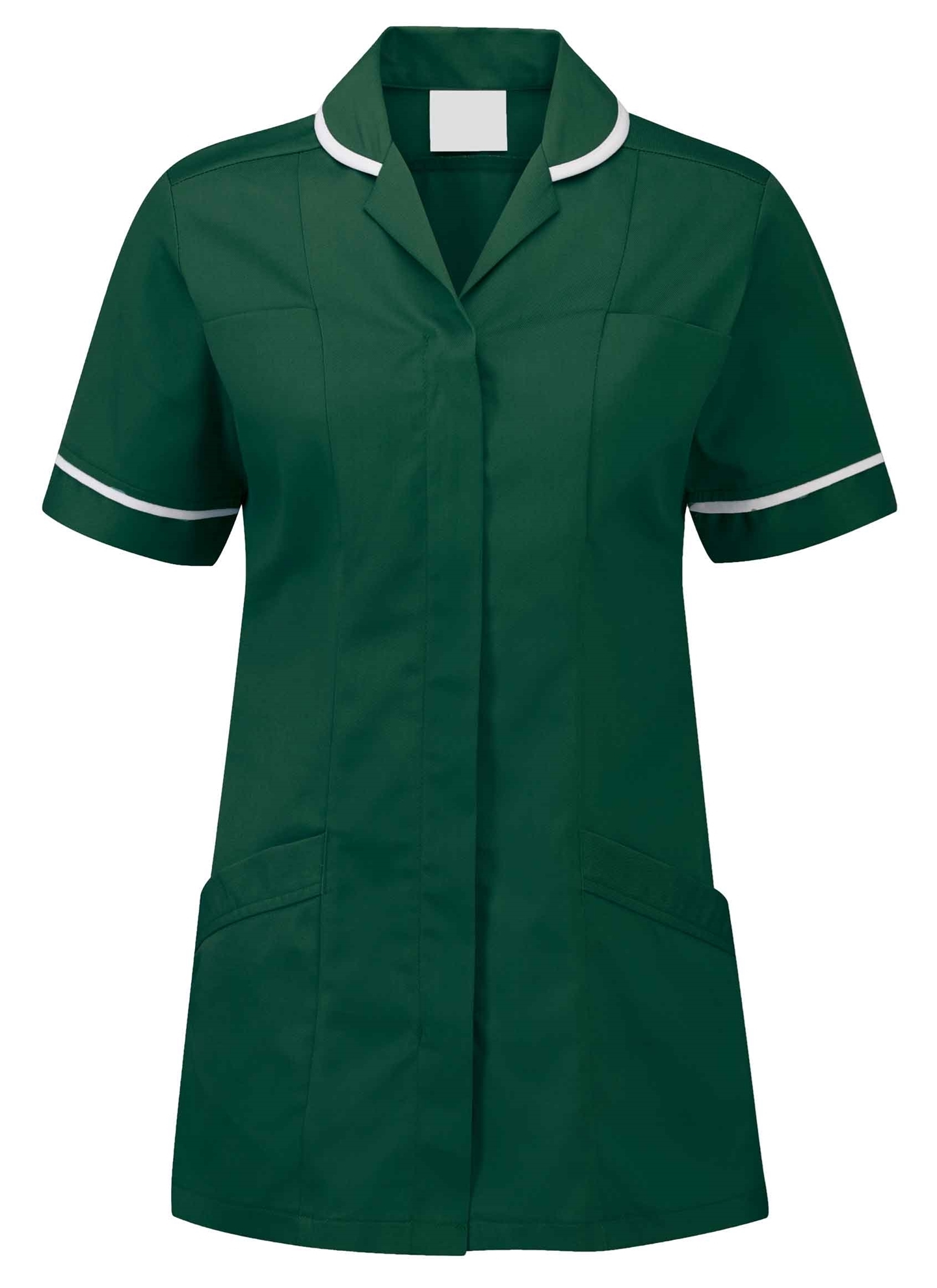 Picture of Lightweight Tunic - Bottle Green/White