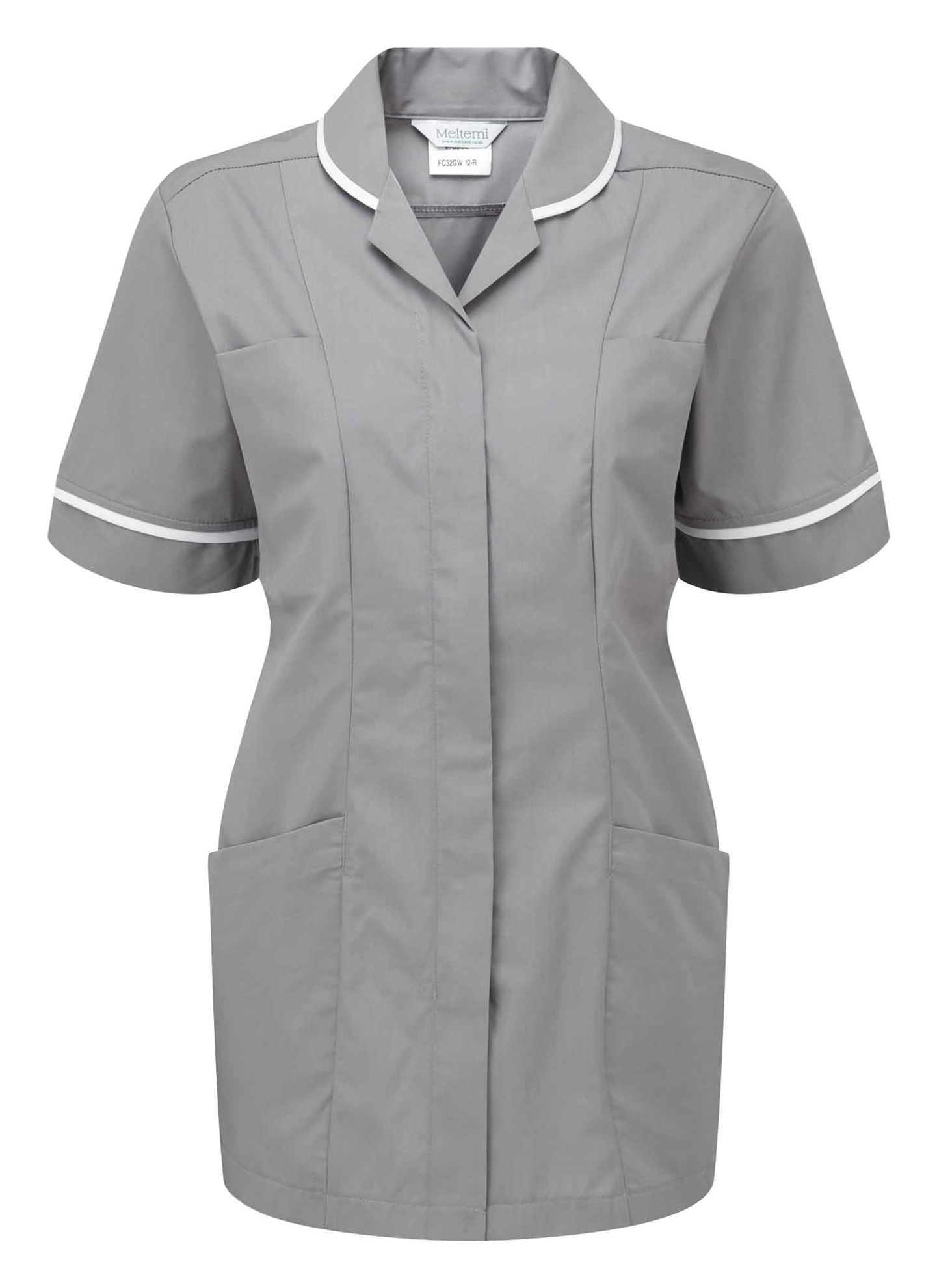 Picture of Lightweight Tunic - Hospital Grey/White