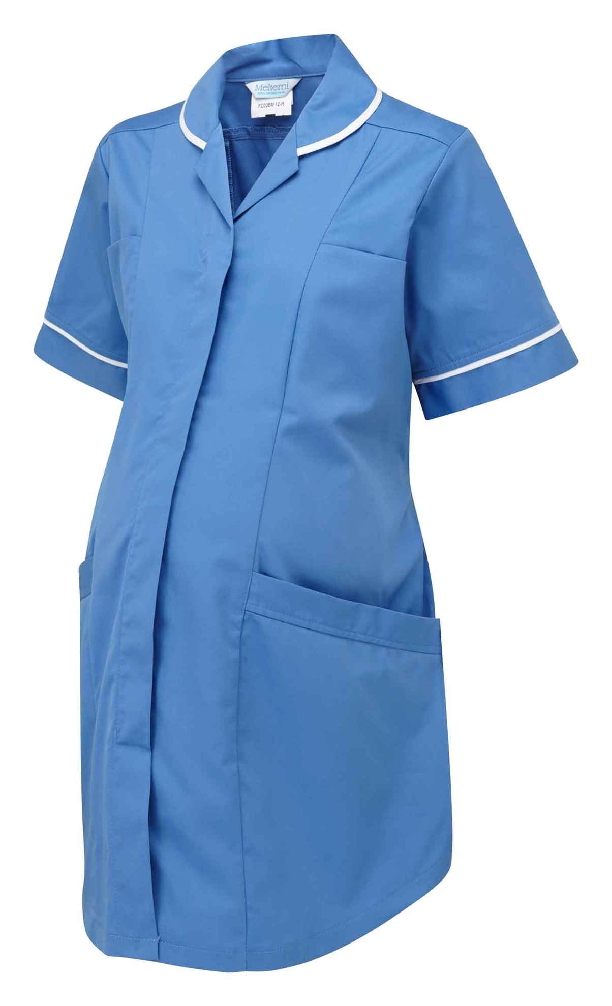 Picture of Plain Maternity Tunic - Hospital Blue