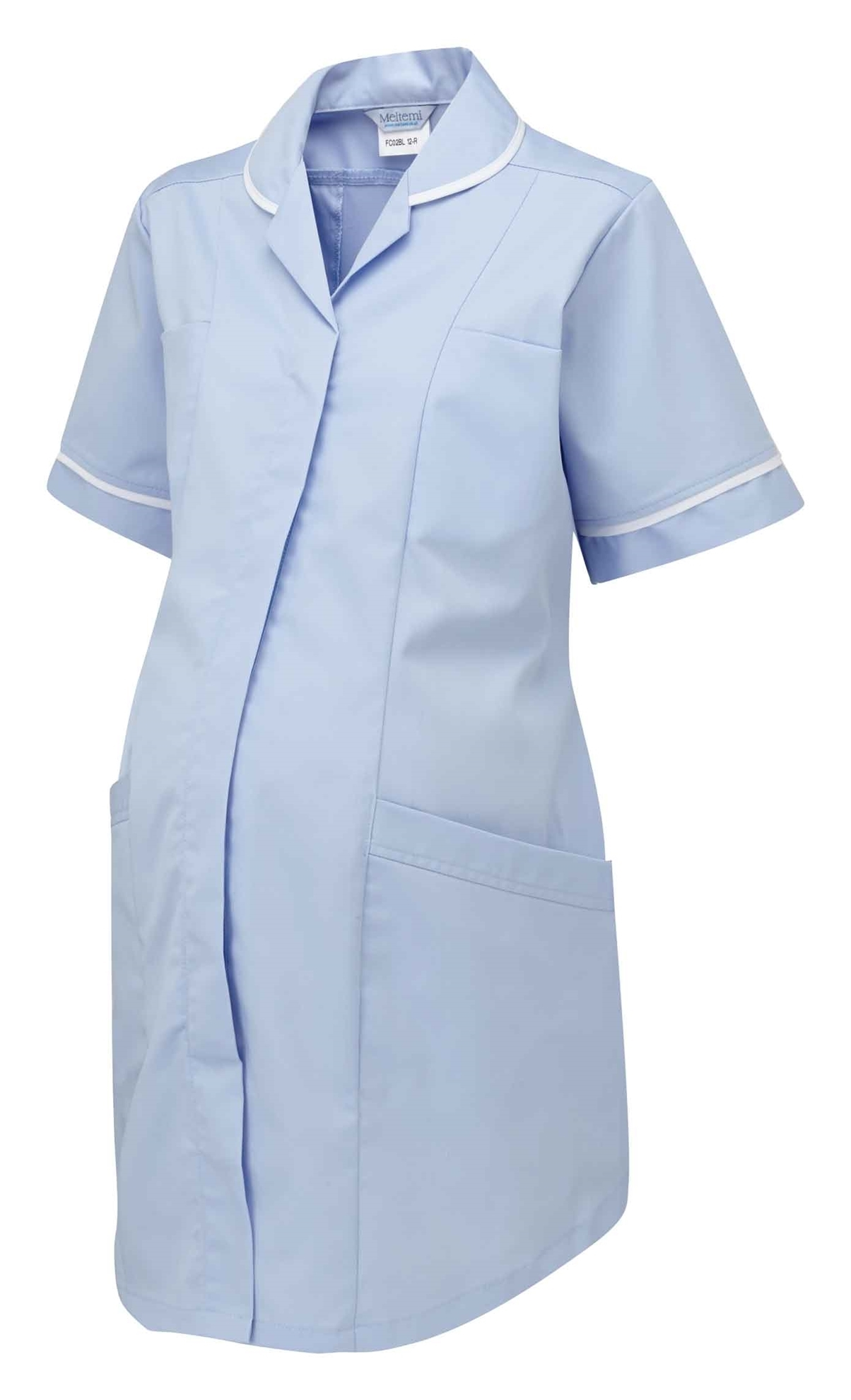 Picture of Plain Maternity Tunic - Sky Blue