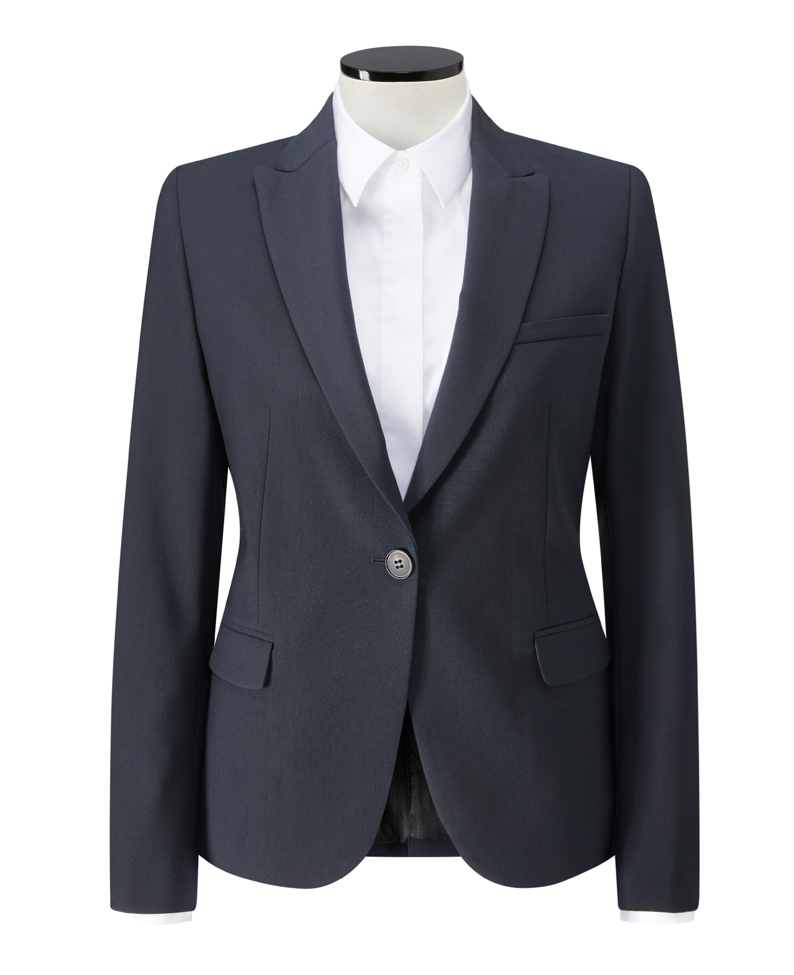 Picture of Ladies Hoxton Slim Fit Jacket - Navy