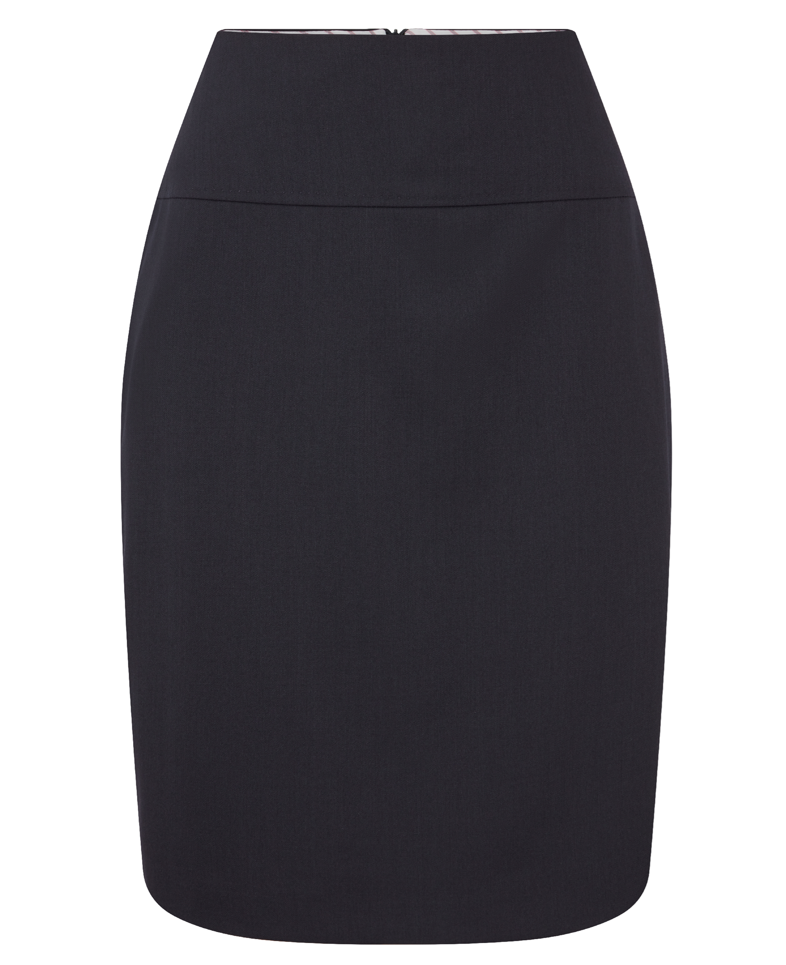 Picture of Ladies Holborn Pencil Skirt - Navy