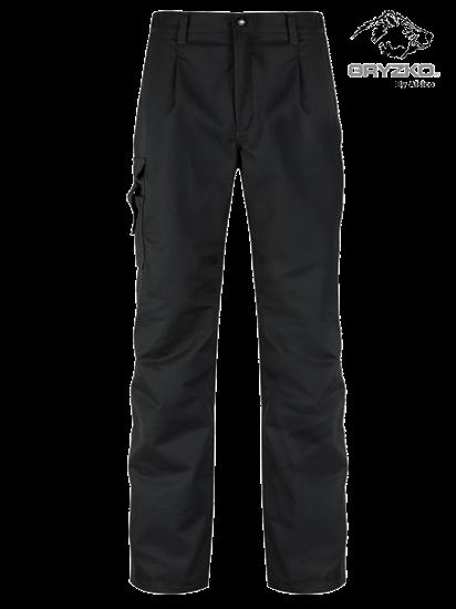 gryzko cargo trouser in black