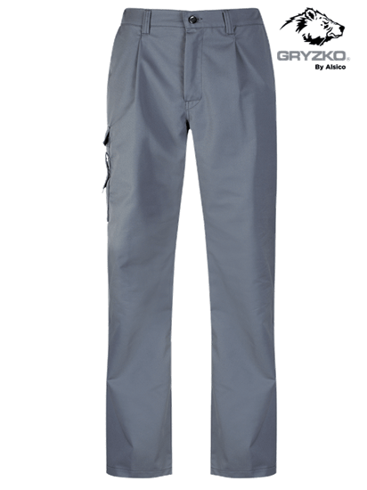 gryzko cargo trouser in convoy grey