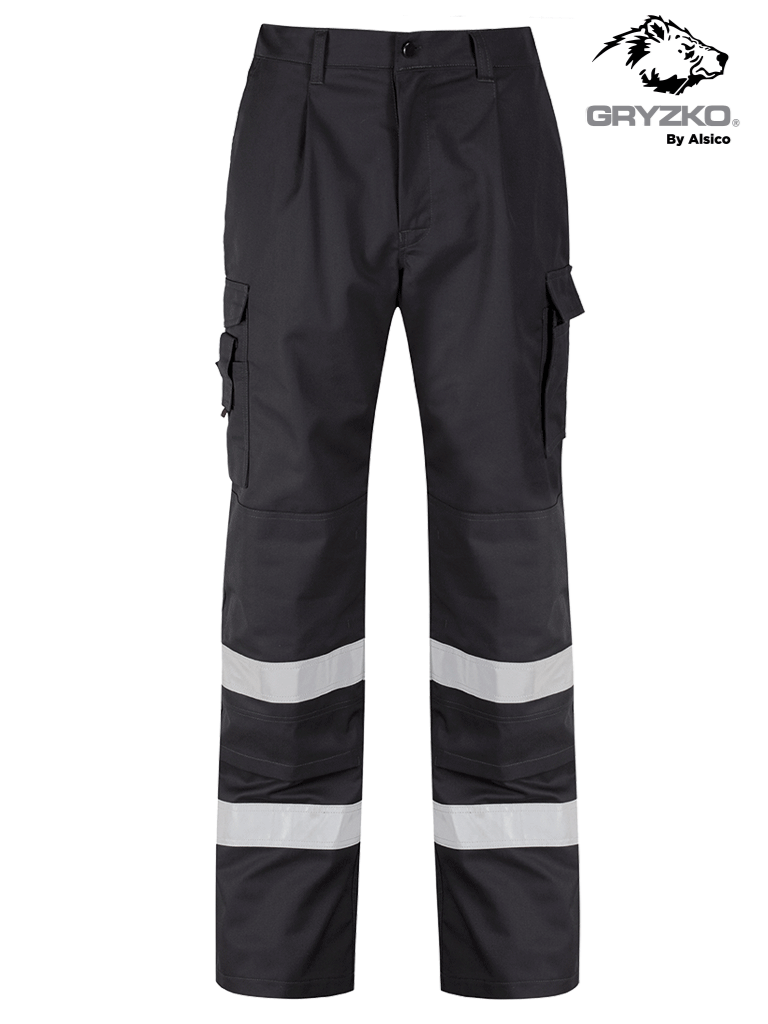 Picture of Gryzko® Reflective Tape Cargo Trouser