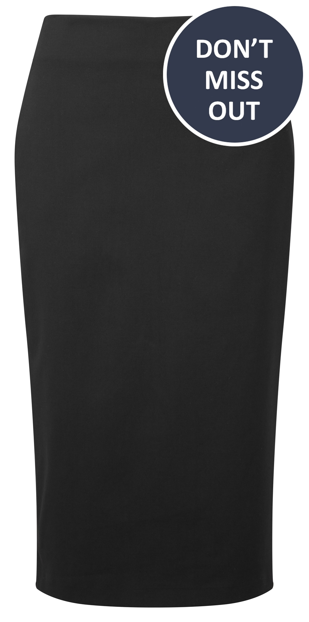 Picture of Straight Skirt - Black