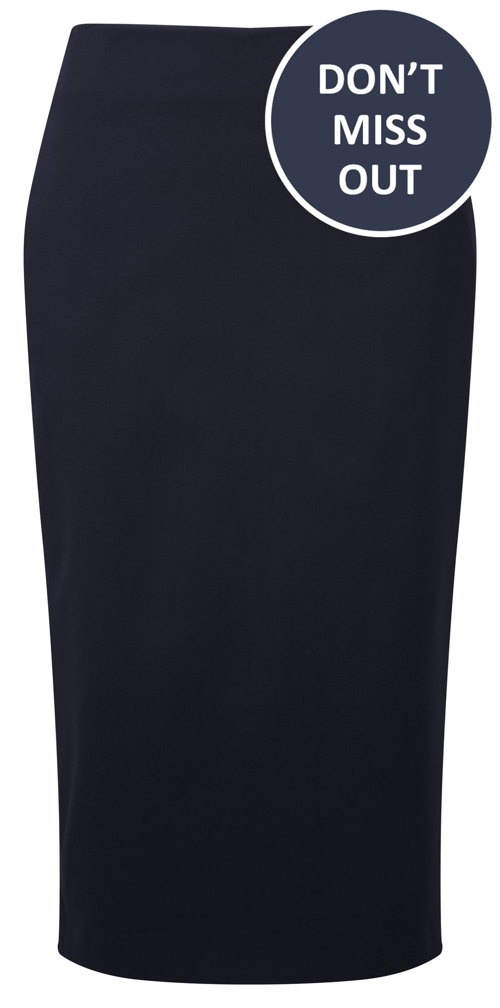 Picture of Straight Skirt - Navy