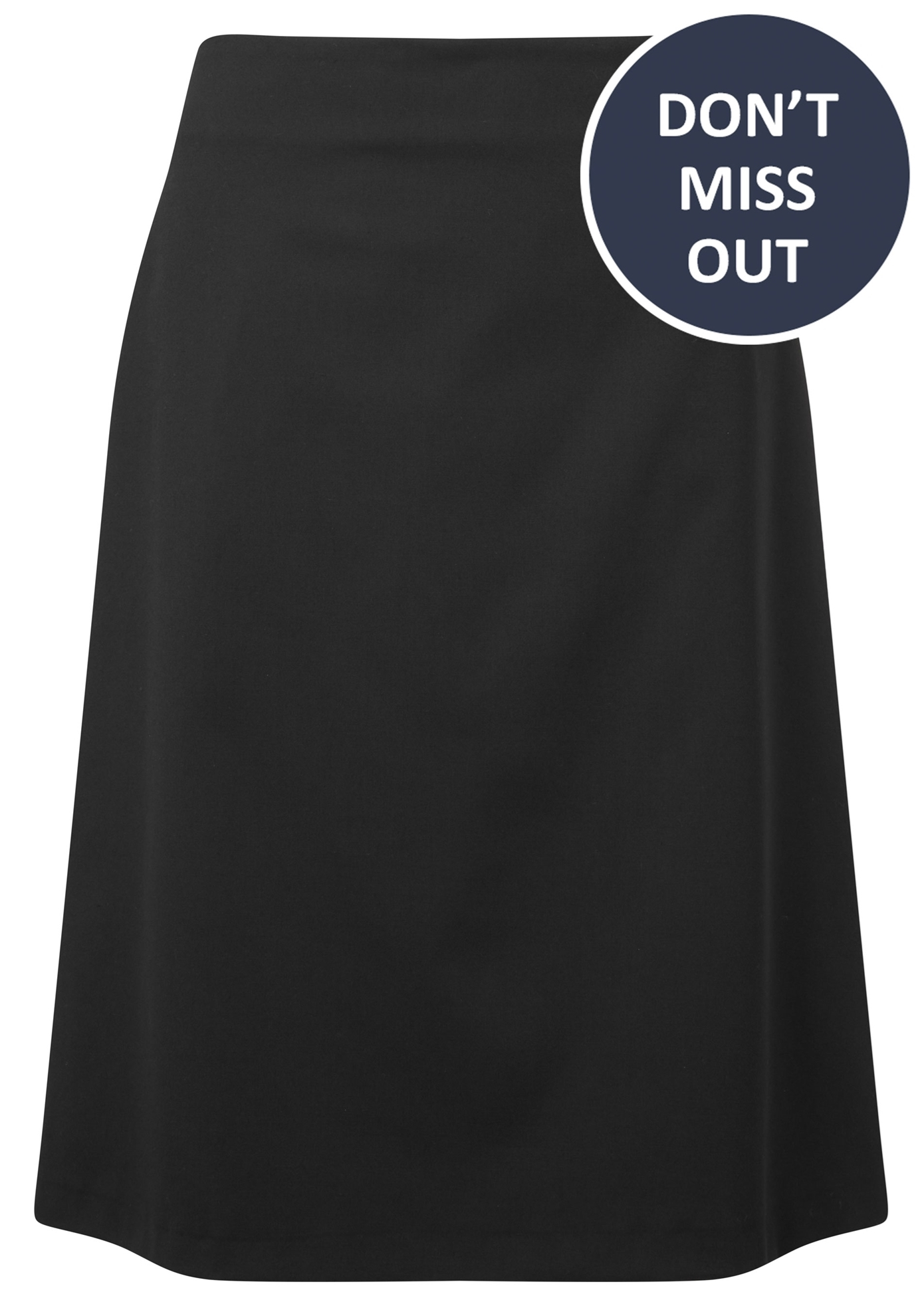 Picture of A Line Skirt - Black